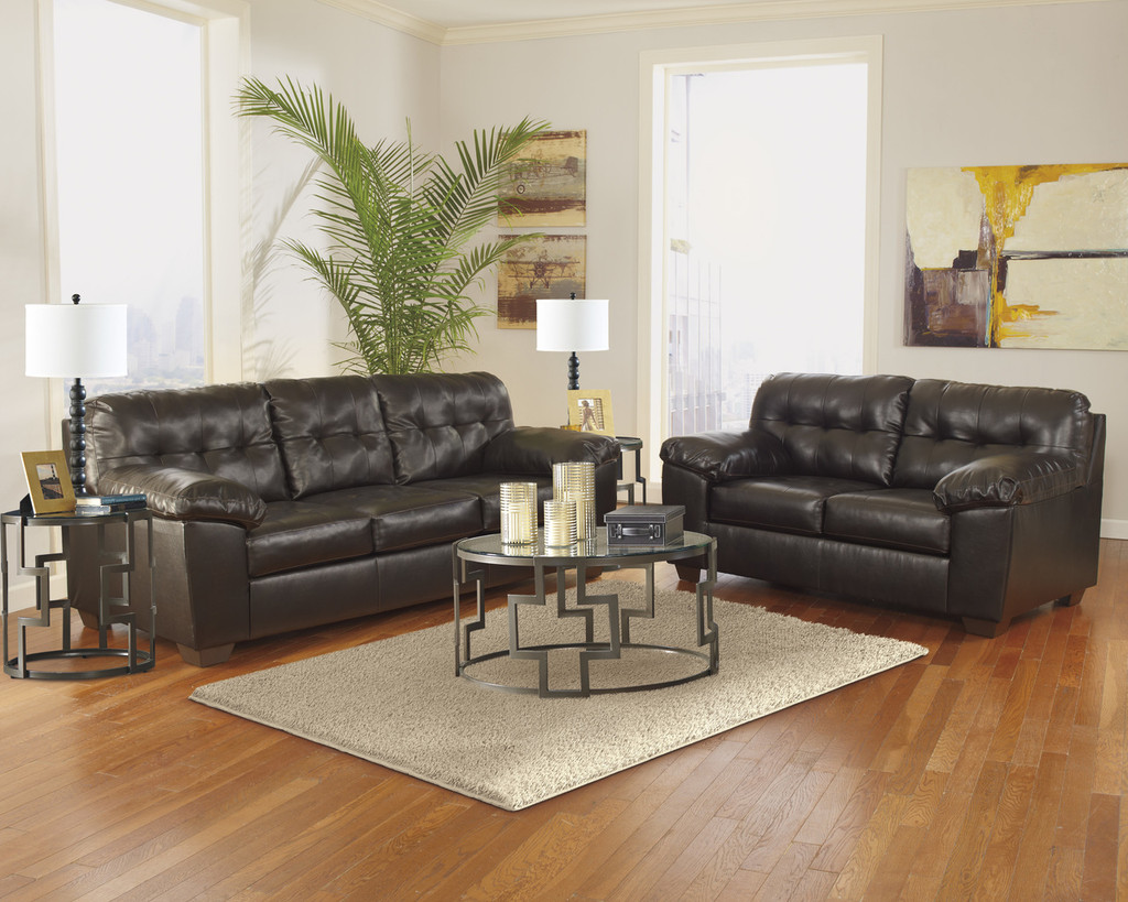 The Alliston Chocolate Living Room Collection