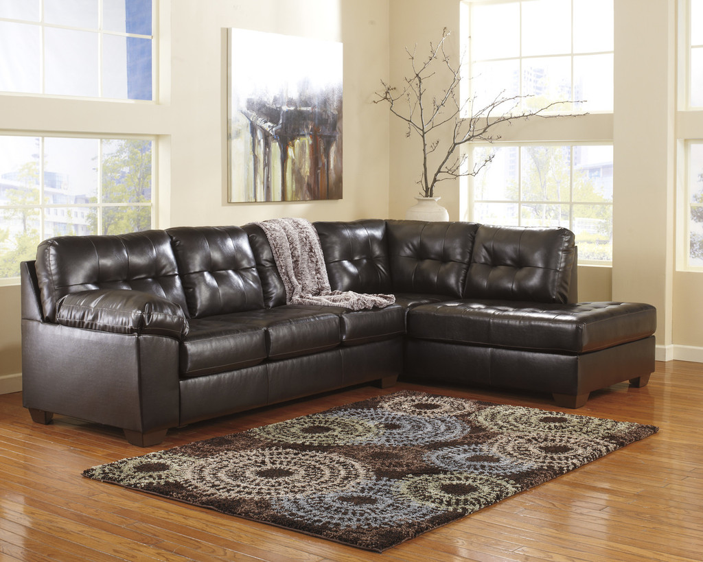 The Alliston Chocolate Collection Sectional
