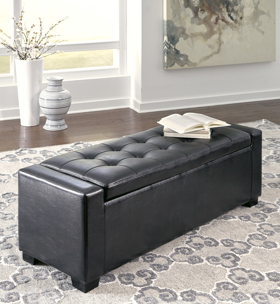 Amazing The Lorena Ii Storage Bench Pabps2019 Chair Design Images Pabps2019Com