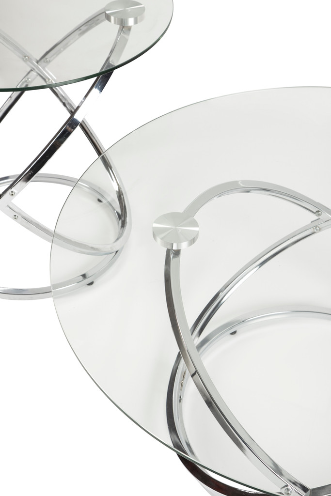 The Hollynyx 3pc Coffee Table Set
