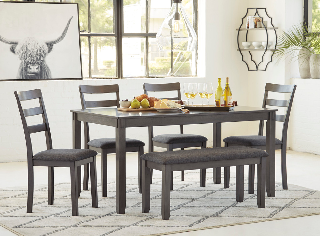 Astonishing The Bridson 6Pc Dining Room Collection Interior Design Ideas Philsoteloinfo