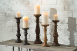 The Carston Set of 5 Candle Holders