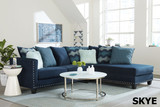 Skye sectional- Tropical Dist
