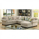 The Skyler Beige Sectional Collection