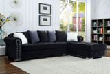 The Wilmington Black Sectional