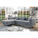 The Aime Gray Storage Sectional