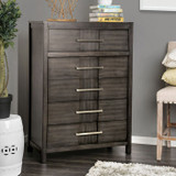 The Berenice Gray Bedroom Collection Chest