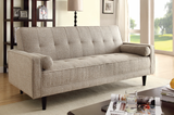 The Edana Sand Linen adjustable sofa