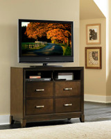 The Darien Bedroom Collection Media Chest