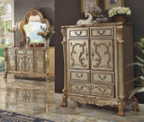 The Gold Patina Royal Bedroom Chest