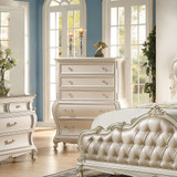 The Chantelle Pearl White Bedroom Collection Chest