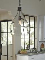 The Avalbane Glass Pendant Light