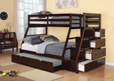 The Jason Espresso Bunk Bed
