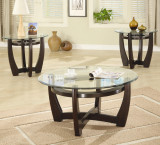 Set includes: coffee and 2 end tables