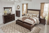 The Brynhurst Upholstered Storage Bedroom Collection
