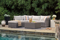 The Cherry Point Patio Sectional w/Table