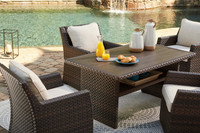 The Easy Isle 5pc Patio Dining Set