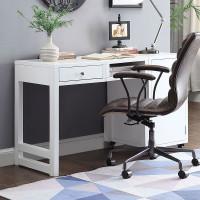 The Kaniel White Office Desk