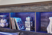 The Drystan Youth Storage Bookcase Bedroom Collection