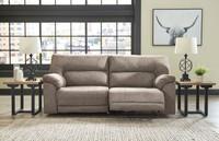 The Cavalcade Slate Reclining Sofa