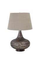 The Pewter Accent Lamps