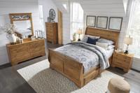 The Bittersweet Queen Sleigh Storage Bedroom