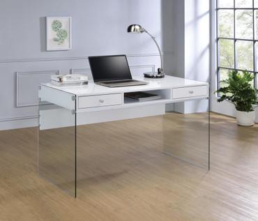 The Dobrev White Writing Desk