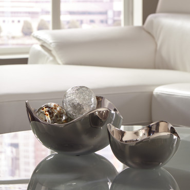 The Donato Set of 2 Accent Bowls