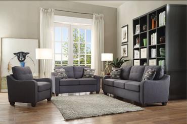 The Cleavon II Gray Living Room Set