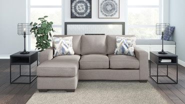 The Greaves Stone Sofa Chaise