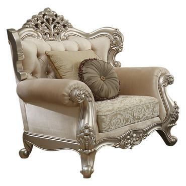 The Bently Champagne Chair