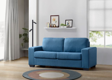 The Uni Blue Sleeper Sofa