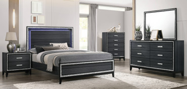 The Haiden Black Bedroom Collection