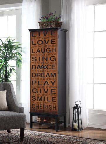 The Live Love Laugh Cabinet