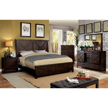 The Bianca Walnut Bedroom Collection