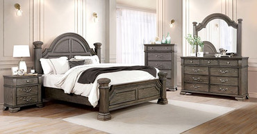 The Pamphilos Gray Bedroom Collection