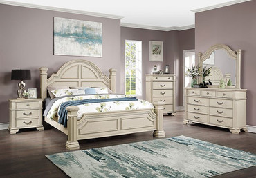 The Pamphilos White Bedroom Collection