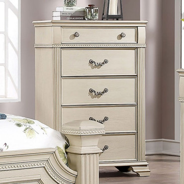 The Pamphilos White Collection Chest
