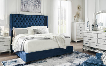 The Coralayne Royal Upholstered Bed