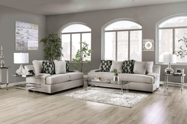 The Reigate Light Gray  Living Room Collection