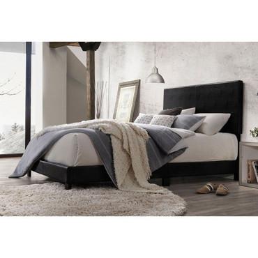 The Lien Queen Black Bed