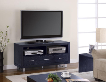 Bold TV Stand in Black Finish