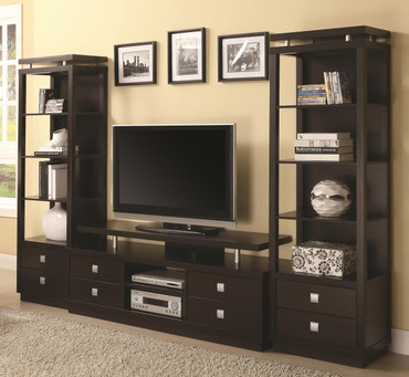 The 3pc Floating Top Entertainment Center