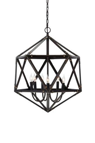 Pointe Bronze Finish Metal Pendant Light