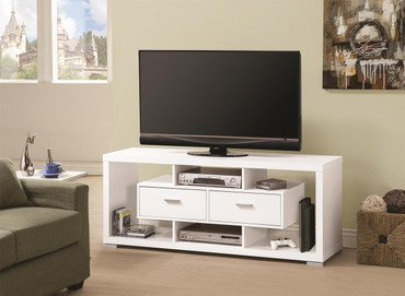 The Cuin White TV Stand