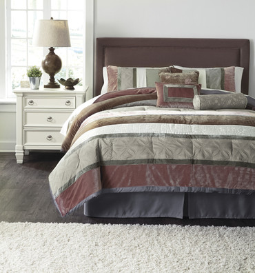 The Jasie Comforter Collection