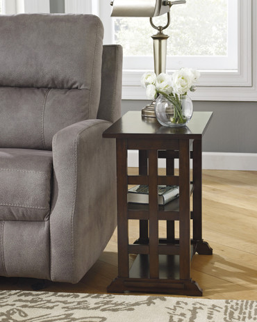 The Braunsen Lattice Chair Side Table