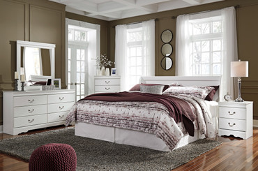 The 5pc Anarasia Bedroom Collection