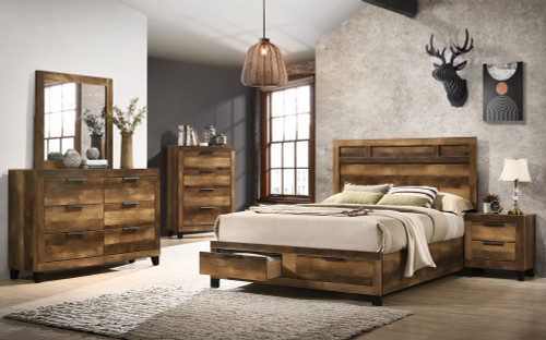 The Morales Bedroom Collection