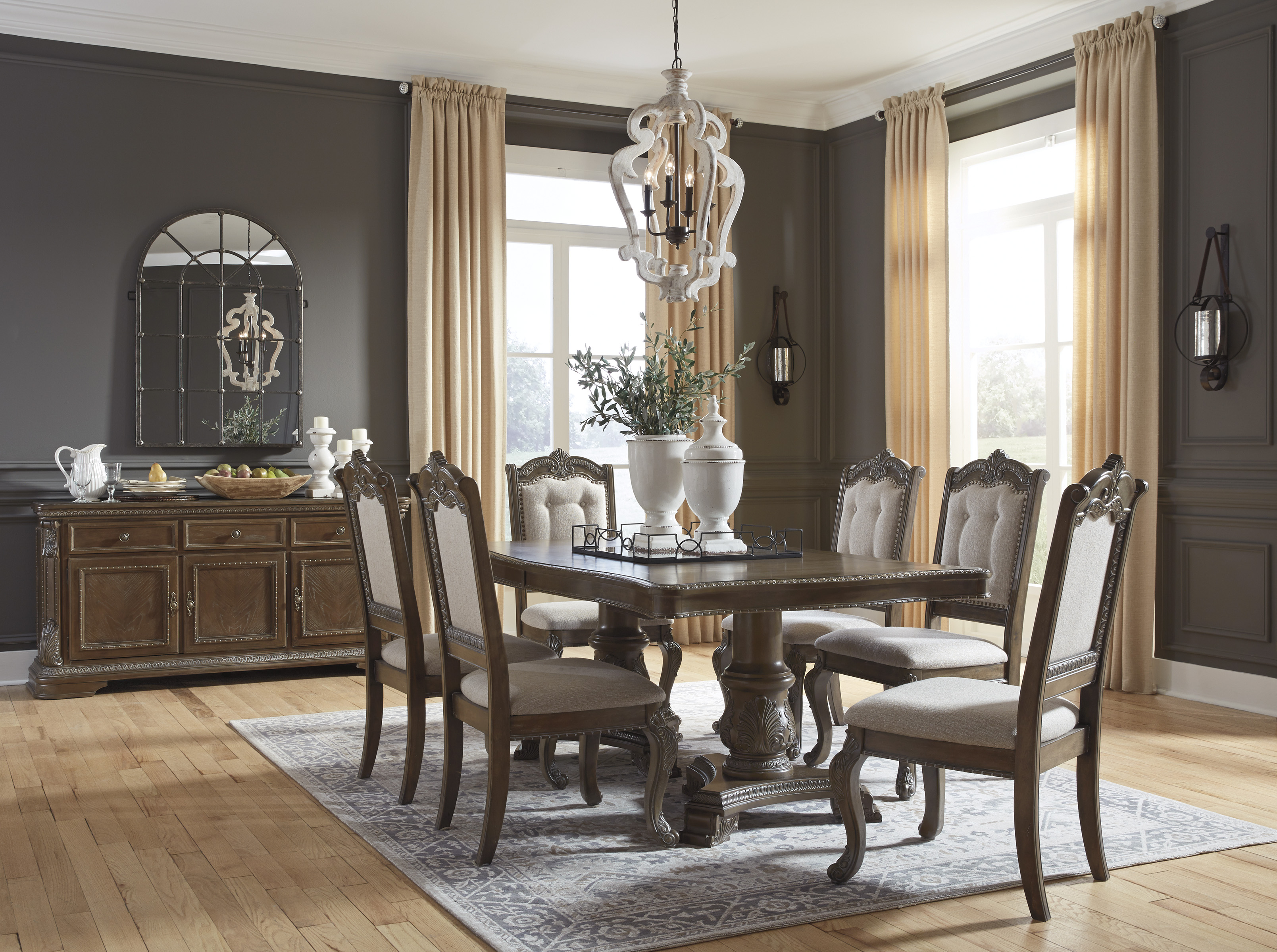 The Charmond Deluxe Dining Collection Miami Direct Furniture